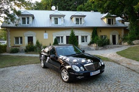 Mercedesem do ślubu, na ślub, atrakc