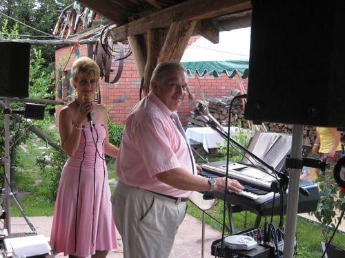 Na weselu w Brzegu Dolnym