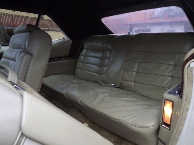 Wnętrze Cadillaca
