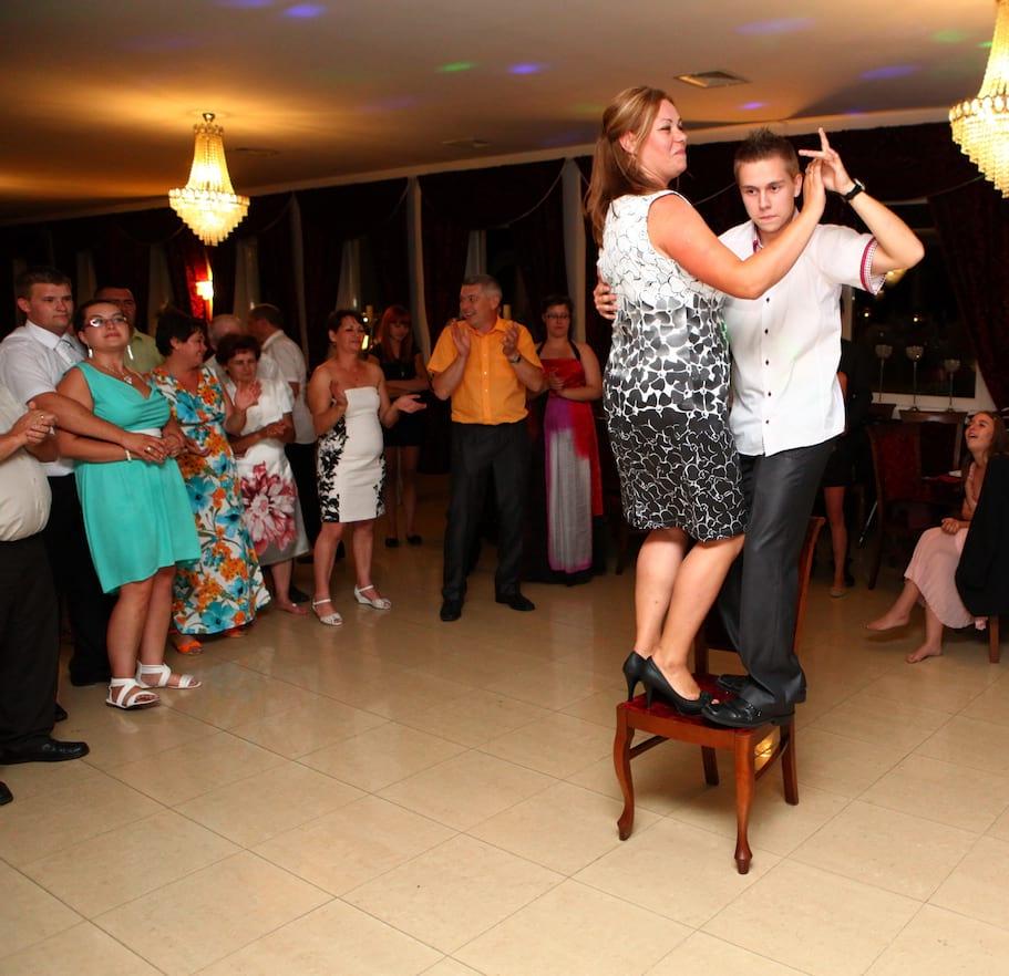 krzesło - dance