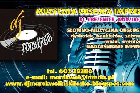 Marek Woliński - DJ Marco - Lesko