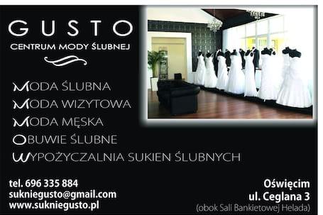 Firma na wesele: GUSTO Centrum Mody Ślubnej