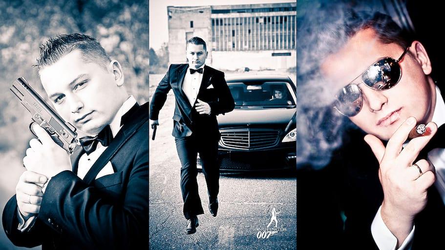 Marek Glinka fotografia (sesja James Bond)