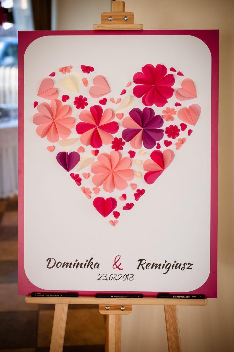Księga gości - kwiatowe love