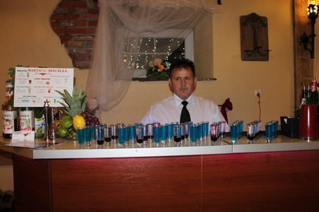 Firma na wesele: barman-wesele