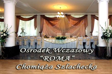 Firma na wesele: Ośrodek Wczasowy ROMA Chomiąża Szl.