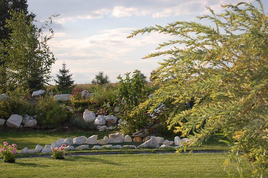 Ogród w Finezji