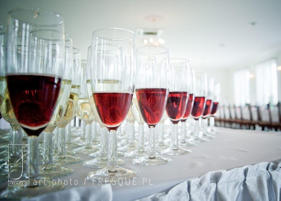 Ustawienie szampanówek