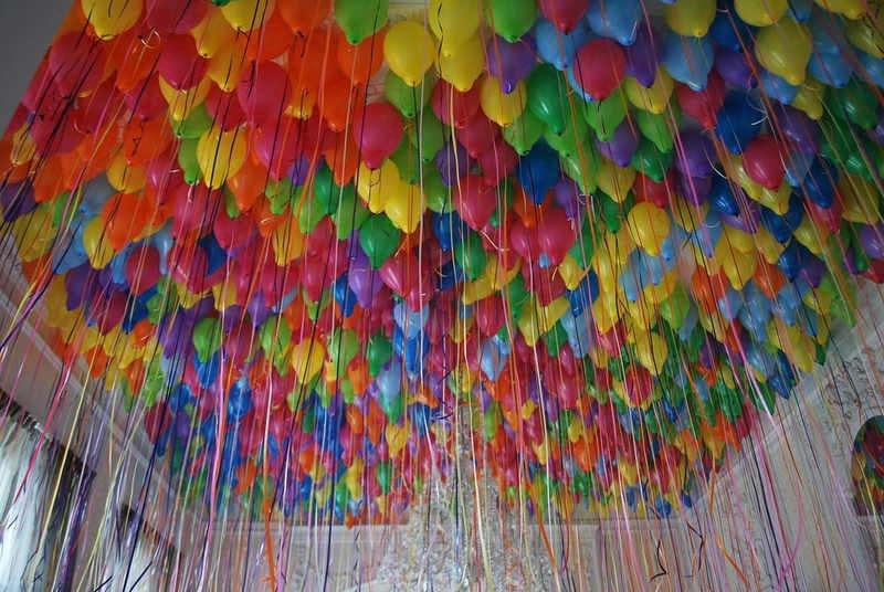 sufit balonowy