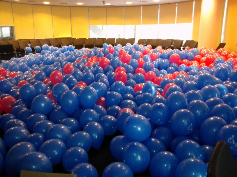 40 tys. balonów