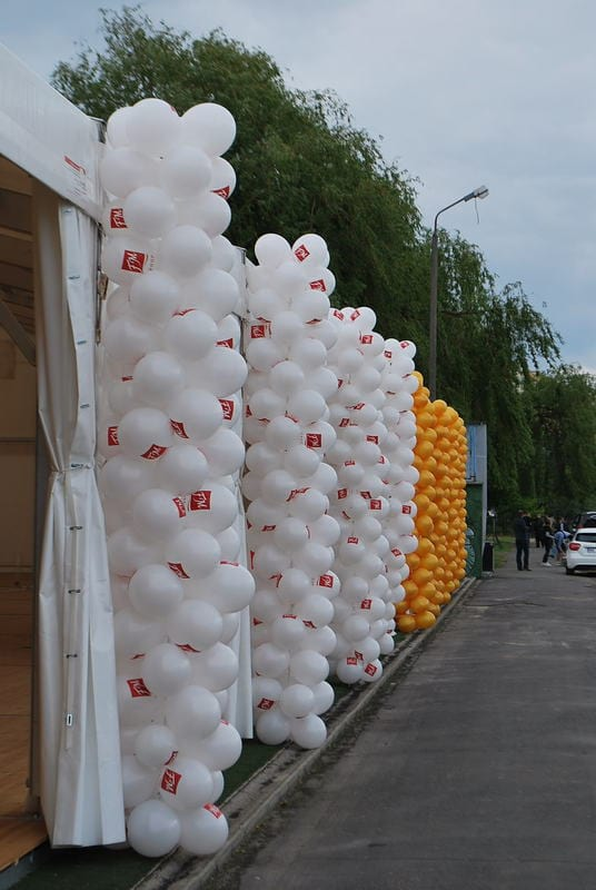 kolumny balonowe