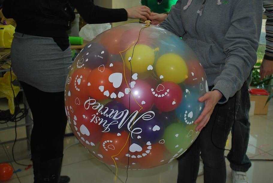 balon wybuchowy
