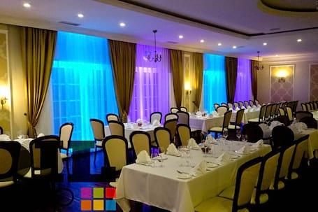 Firma na wesele: Dekoracja Światłem Sal Weselnych