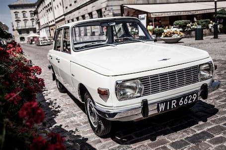 Firma na wesele: Wartburg 74 po renowacji, dwusuw