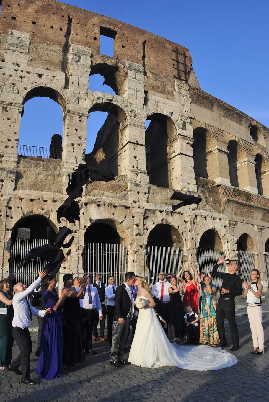 slub w Rzymie, plener slubny w Rzymie