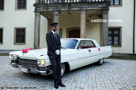 Firma na wesele: LIMUZYNY JAGUAR, CHRYSLER, CADILLAC