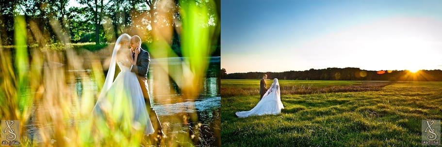 Plener Ślubny malowany światłem