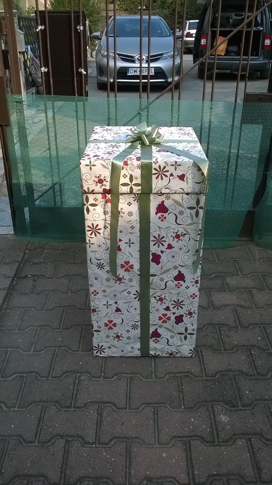 małe pudełko