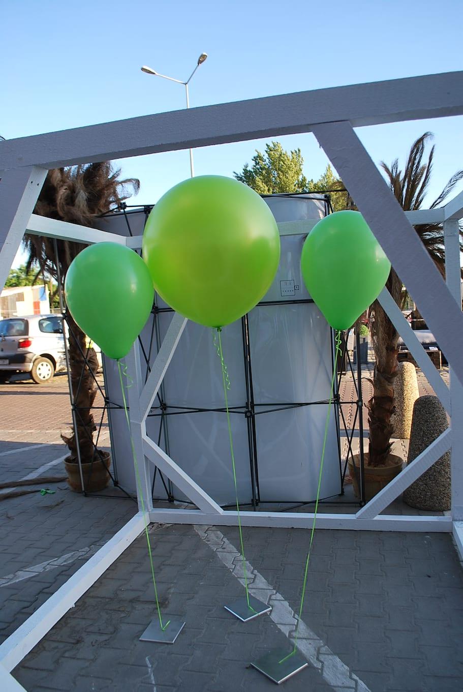 balon metrowy i pół metrowe