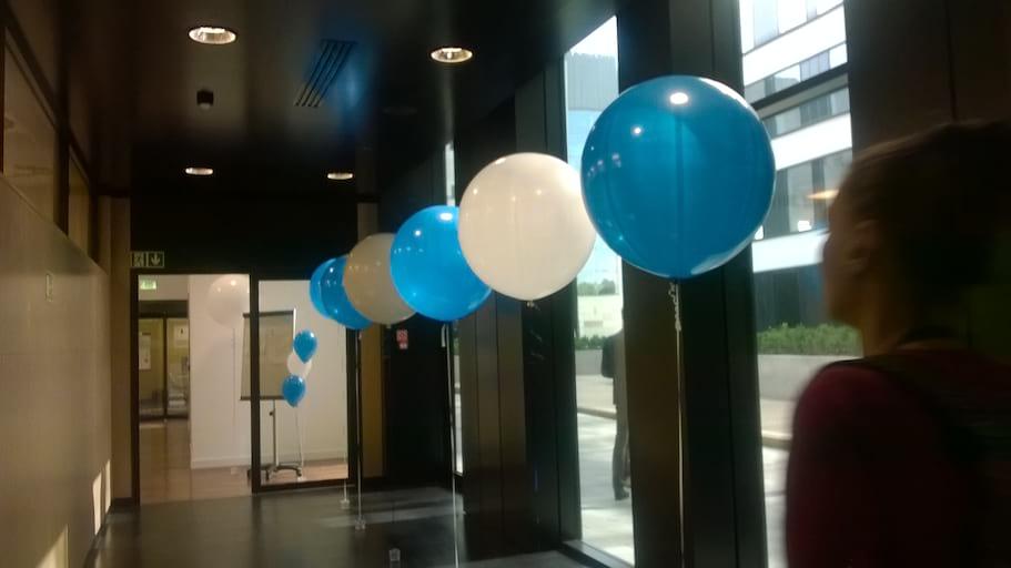 balony metrowe