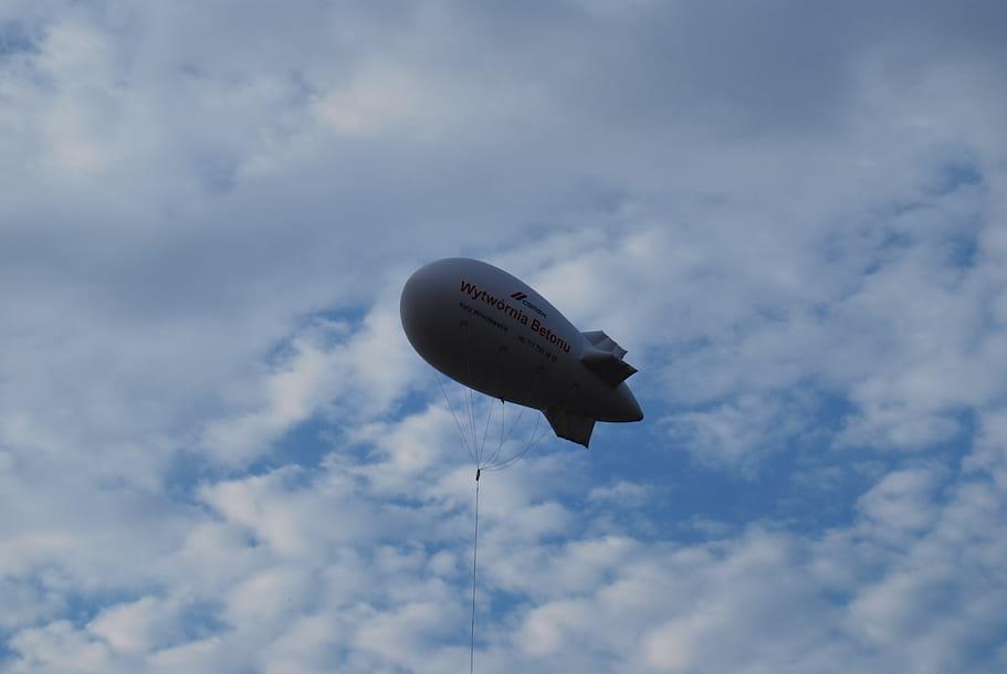 Balon reklamowy 3 metrowy z kotwicą