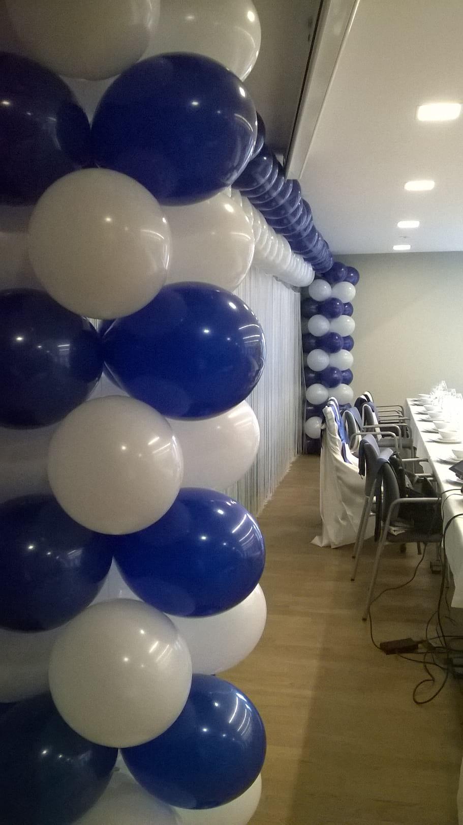 dekoracja balonowa