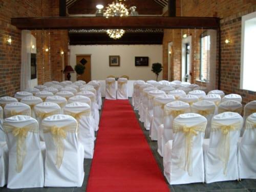 Czerwony  dywan do ślubu wypożyczenie