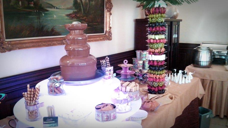 Fontanna czekoladowa wesele