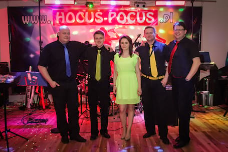 Firma na wesele: Hocus-Pocus.pl - 100% LIVE Band