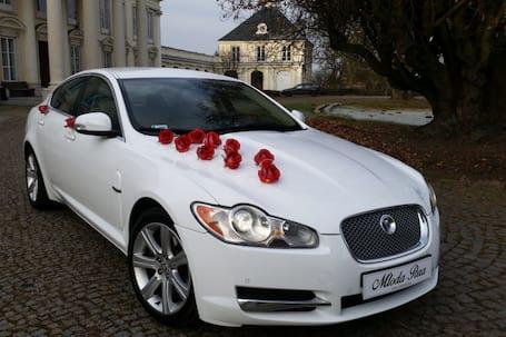 Firma na wesele: Jaguar XF, Audi Q7, Audi A8L, białe!