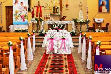 Dekoracja Ślubna Kościołów