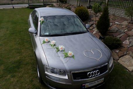 Firma na wesele: AUTO DO ŚLUBU  AUDI A8