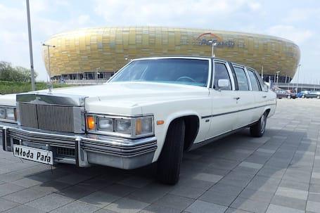 Firma na wesele: Zabytkowy Cadillac Limousine !