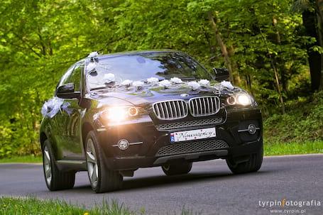 Firma na wesele: BMW X6 do ślubu
