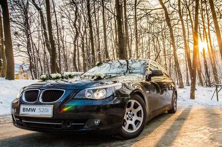 Firma na wesele: Samochód do ślubu Bielsko - BMW E60