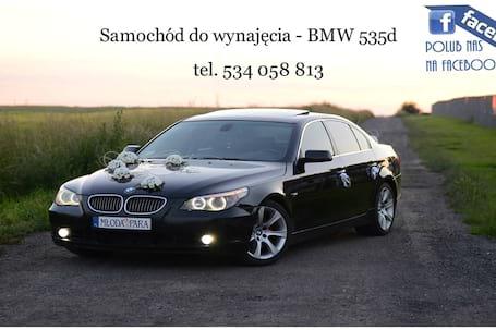 Firma na wesele: Samochód do wynajęcia - BMW 535d