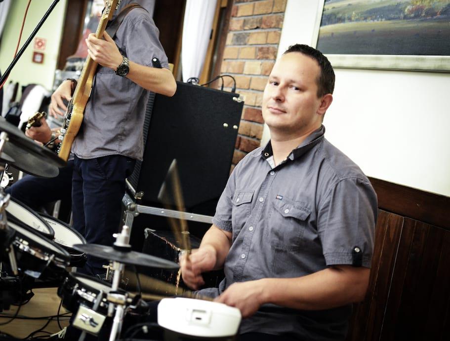 Łukasz- instr. perkusyjne