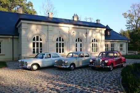 Firma na wesele: Do ślubu Mercedes W120