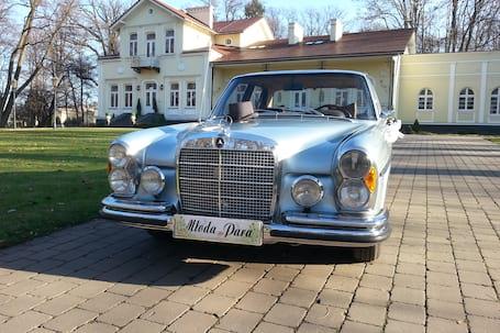 Firma na wesele: Mercedes do ślubu