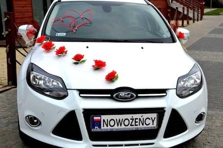 Firma na wesele: Samochód do ślubu - Ford focus MK3