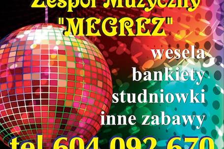 Firma na wesele: Zespół muzyczny MEGREZ