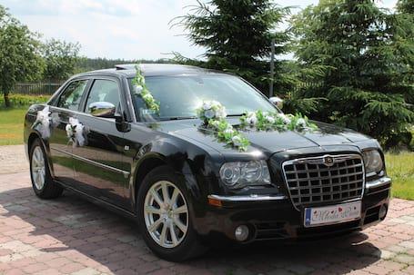 Firma na wesele: Piękny Chrysler 300C Do Ślubu!