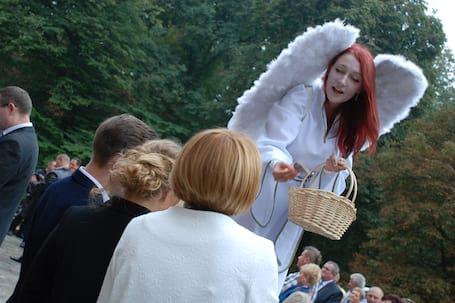 Firma na wesele: Aniołki na szczudłach oraz Fireshow