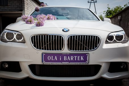 Firma na wesele: Auto do ślubu