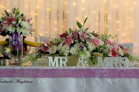 Firma na wesele: primadecor Urszula Dobrowolska
