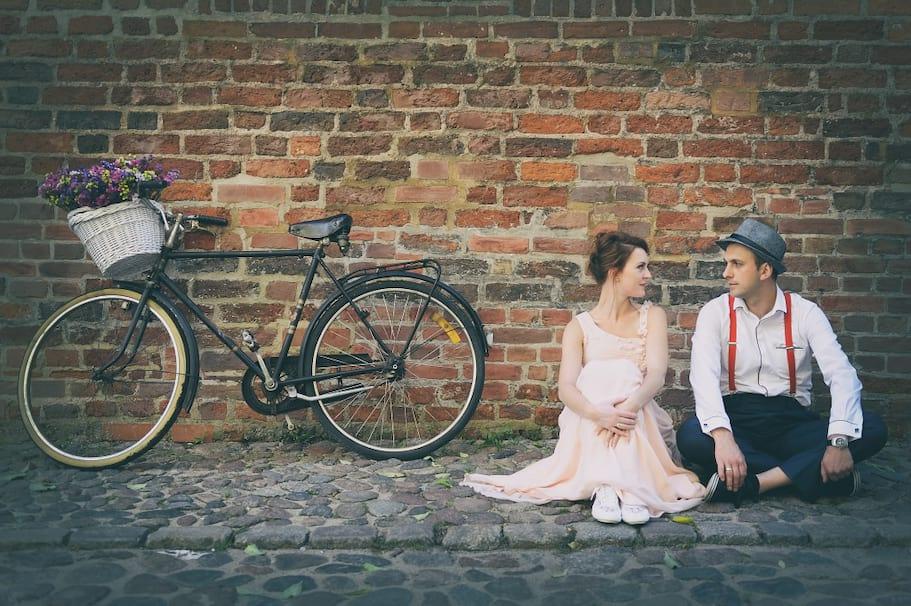plener ślubny w stylu vintage