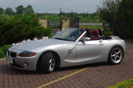 Firma na wesele: BMW Z4 Carbio Auto do Ślubu