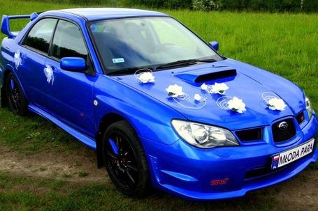 Firma na wesele: Subaru Impreza WRX STI