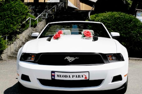 Firma na wesele: MUSTANG CABRIO- poprowadź samemu :)