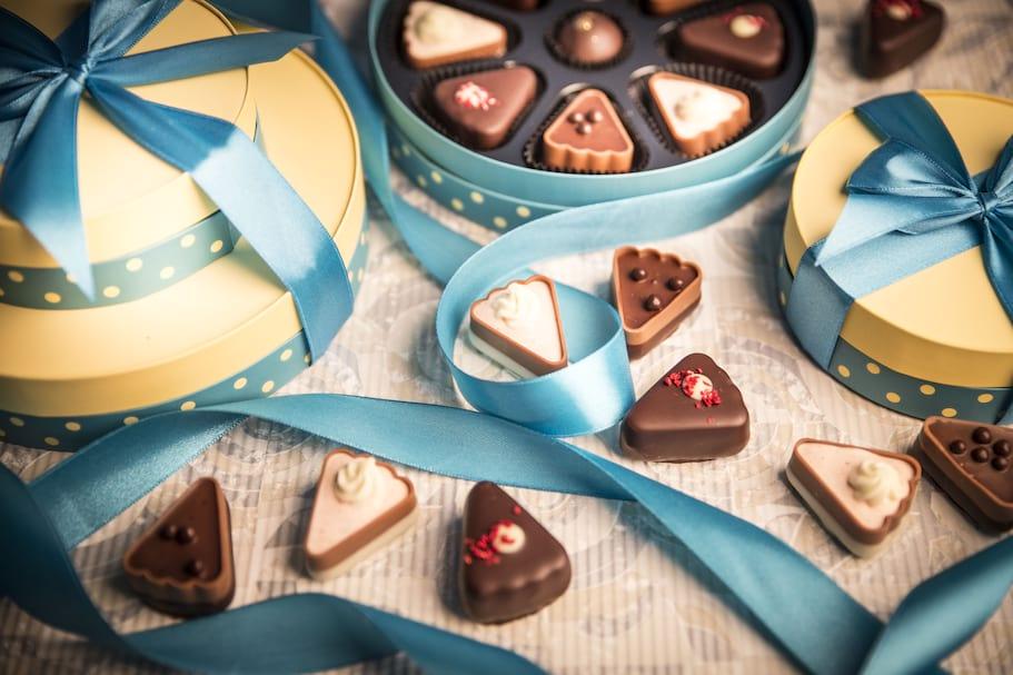Słodki torcik weselny